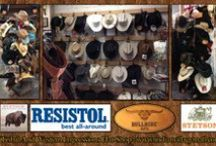 Featured Cowboy Hats / Featured Western Cowboy Hats From Tribal And Western Impressions- Review the complete collection off of: http://www.indianvillagemall.com/hats/hats.html / by Tribal Impressions