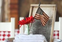 Holidays: Red, white, and blue! / by Christina {The Frugal Homemaker}