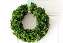 Wreath ideas / by Christina {The Frugal Homemaker}