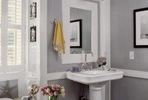 Rooms: Half bath/guest bath / by Christina {The Frugal Homemaker}