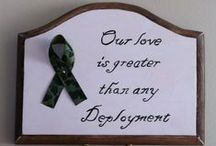 Deployment / My daughter's daddy is on deployment & none of us are happy about it. My fiancée is also in the Navy & will eventually be back on a ship. We have pinned some really great ideas for how to get through this tough time....on all sides. / by Amy Pasek