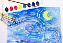 Home School - Art / by Danyel Beach