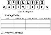 Home School - Spelling/Vocab / by Danyel Beach
