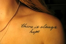 Tattoos / by Carla Long