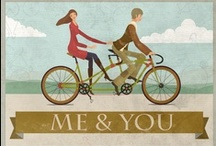 Bicycles / Bicycles in art, home decor, photography, paper, design, etc. / by Terra Engelman