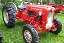 Simple & Powerful--Old Ford Tractors / Starting with the 9N, 2N, then the 8N, Ford tractors won the west and many of these old guys are still in use today! The Workmaster and Powermaster series are some of the most beautiful tractor designs ever made. / by DeWitt Harkness