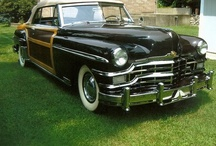 Fine Old 1940's & 50's Cars / by DeWitt Harkness