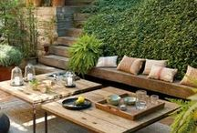 Outdoor living / by Lindsey Baker