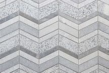 Walker Zanger Stone Mosaics and Patterns / Naturals Stone's variety of color, movement and durability lends itself to architectural decoration. This boards presents highlights from Walker Zanger's extensive collection of unique and luxurious natural stone decoration, expressed in a variety of techniques, from artful hand cut mosaic to the precision of waterjet technology.  / by Walker Zanger