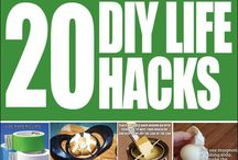 Hacks! / Cleaning tips and other tips! / by Leslie Varty