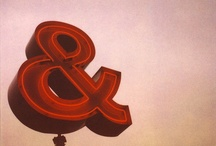Ampersand Land / Because Ampersands are Awesomeness / by Lisa Aufox