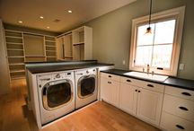 Dream House: Laundry & Closets / by Ashley Bryant
