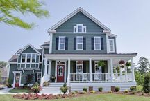 Dream House: Exteriors & Plans / by Ashley Bryant