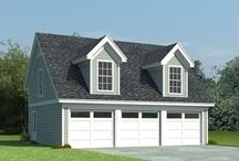 Dream House: Garages / by Ashley Bryant