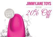 JIMMYJANE Adult Sex Toys / JimmyJane is a design-centric brand founded on the belief that life is better with a sexy twist! Get these adult sex toys at 20% off until 8/21 at www.loverslane.com!  / by Lovers Lane