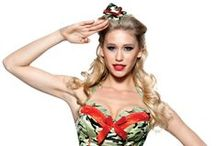 Sexy Military Costumes / There's nothing like a woman in uniform and with our military costumes you can represent your favorite branch of our armed forces! #LoversLane  / by Lovers Lane