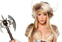 Sexy Warrior Costumes / Bring out your inner battle maiden this Halloween with one of our sexy warrior costumes! #LoversLane / by Lovers Lane