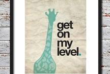 giraffes <3 / by Katie Mathis