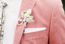 Wedding / Men / menswear, ties, fashion, photos, best men, groom, groomsmen, socks / by Lani Cantor Vatland