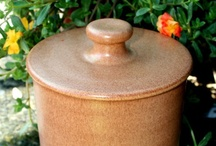 Casseroles and Cookie Jars / Lidded pots / by Sharon Hutson Hurricane Pottery
