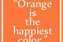 Orange.   Who knew I loved this color too... / by Mary Davidson
