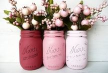 Mason Jar Ideas / by One Whimsy Chick
