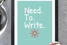 Write quotes / by Laura Pepper Wu