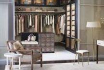 Closets to Covet / The most comprehensive collection of lust- worthy closet photos to make any fashionista's knees buckle. / by Michelle Gion