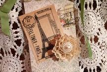 Altered tags / by Jill Cannaday