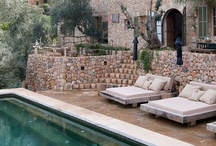gardens, pools & other outdoor spaces / by L DeDo