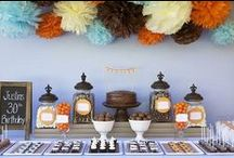 PARTIES: Fall Birthdays / Inspiration for those September, October, & November Babies! / by Stephanie Clark