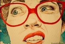 Art: Illustration / by Maria Puyo Negret