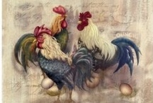 I.Just Love Chickens!!! / CHICKEN ART / by the hamandjam south