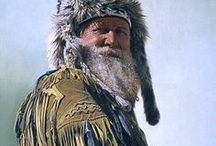 Mountain Men / I am fascinated how mountain men or buckskinners lived their lives.  They could live off the land.  Any program or tv program about them is very interesting to me.  / by Rita Ann Martin