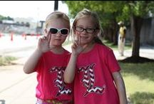 "L for Louisville / Card fans flashing their ""L"" / by University of Louisville"