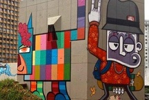 3 D | S T R E E T | A R T / 3D Street Art / by Ana Cristina Claro