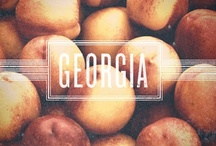Sweet Georgia Peach - My Hometown / Love my city...Atlanta!  All things Georgia! / by Heather Hill