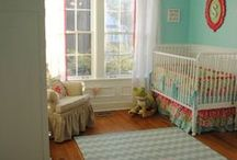 nursery idea for girl / by Paula Hadden