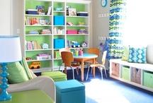 Kids' Rooms & Nursery Ideas / by Muscogee Moms