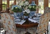 Dinner is served! / Gathering friends and family around a beautiful table for a delicious meal fills me with happiness! / by Nancy DeSantis
