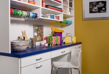 Craft Room / The clutter of your favorite hobby will vanish after one of our skilled designers creates a work center where you can store the supplies required to produce the beautiful results you care so much about. Your pastime passion will flourish when the space you work in is organized and tailored to your needs. / by transFORM