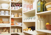 What Would You Put in Your Pantry? / transFORM turns small underutilized closet spaces into spacious walk in pantries.  Show us how you would fill a beautiful transFORM pantry. / by transFORM