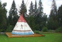 Tipi painting / by Colorado Yurt Company