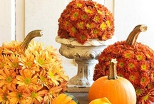 Fall Decorating Ideas / Let me take over your house for a day and it might just turn out looking something like this...  / by Kelley White
