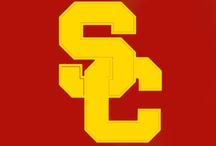 Cardinal and Gold / Trojans live here! WE PLAY to Fight On. / by USC Trojans