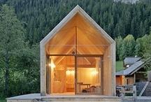 Espacios: Casas / Arquitectura - Tendencias e Innovaviones en Construcción - Materiales / by Dany Sánchez