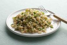 Great Whole Grains / Quinoa, Barley, Farro, Bulgar Wheat and Freekeh Recipes.  / by Harris Teeter