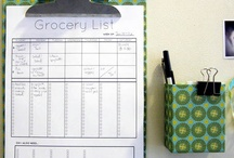 Organize It! SHOPPING / by Andi Willis, Professional Organizer