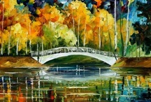 Leonid Afremov / http://afremov.com/content_pages.php?page=about_us / by Gustavo Dalmasso