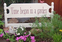 "Time began in a garden / ""We come from the earth. 